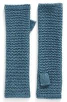 Rebecca Minkoff Women's Garter Stitch Fingerless Gloves