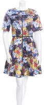 Suno Silk Printed Dress w/ Tags