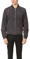 NATIVE YOUTH Calder Suede Bomber