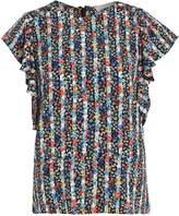 Vanessa Bruno HAWAI Print Tshirt marine