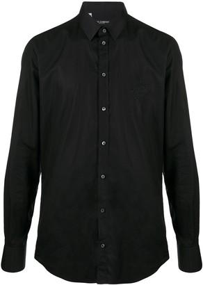 Dolce & Gabbana Long-Sleeve Button-Up Shirt