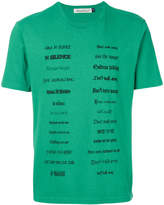 Undercover different font T-shirt