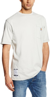 Carhartt Men's Big & Tall Flame Resistant Force Cotton Short Sleeve T-Shirt