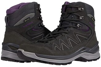 Lowa Toro Evo GTX Mid (Anthracite/Eggplant) Women's Shoes