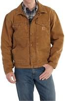 Carhartt Berwick Sandstone Duck Jacket - Factory Seconds (For Big and Tall Men)
