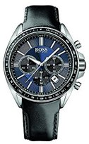 HUGO BOSS Men's 1513077 Leather Analog Quartz Watch