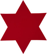 A by Amara - Merino Wool Star Placemat - Fire