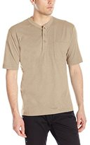 Wolverine Men's Knox Short Sleeve Pocketed Wicking Henley T-shirt