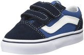 Vans Old Skool V (Toddler) - Navy-6 Toddler