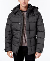 Ben Sherman Men's Quilted Puffer Coat