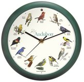 Mark Feldstein & Associates Audubon Singing Bird Clock