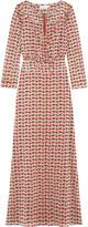 Tory Burch Marilyn floral-print stretch-silk georgette maxi dress