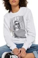 Topshop by And Finally Kurt Cobain Long Sleeve Shirt