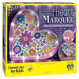 Creativity For Kids Light-Up Heart Marquee Craft Kit