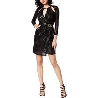 Just Cavalli Women's Faux Crocodile Print Dress