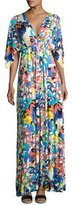 Rachel Pally Floral-Print Caftan Maxi Dress, Plus Size