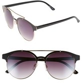 BP 55mm Round Sunglasses