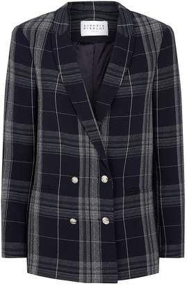 Claudie Pierlot Check Blazer