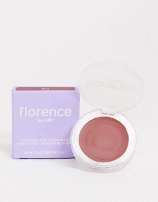 Florence By Mills Cheek Me Later Cream Blush - Zen Z-Pink