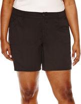 ST. JOHN'S BAY St. John's Bay Twill Cargo Shorts - Plus
