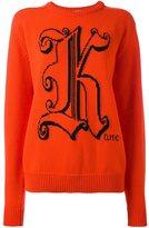 Christopher Kane Kane jumper - women - Virgin Wool - S
