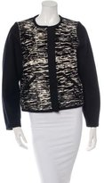 Isabel Marant Collarless Ponyhair Jacket