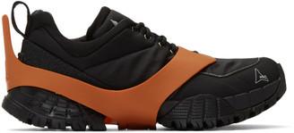 ROA Black Oblique Sneakers