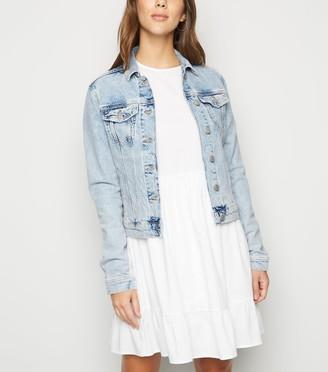 New Look Bleach Wash Denim Jacket