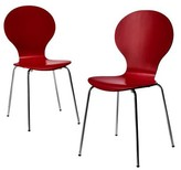 Nobrand No Brand Porter Modern Stacking Chair - (Set of 2)