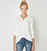 Promod Lace trim shirt