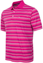 Greg Norman For Tasso Elba Men's Birdseye Multi-Stripe Performance Pocket Polo, Only at Macy's