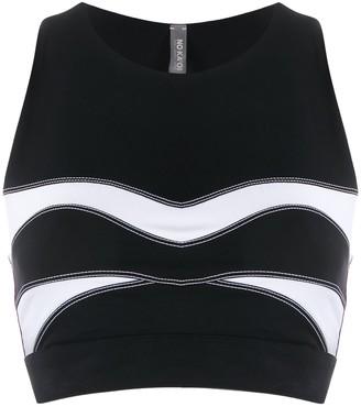 NO KA 'OI Stitching Detail Sport Tank Top