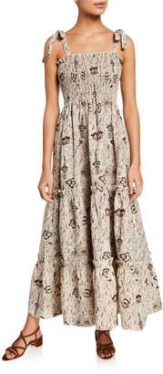 SIR the Label Stella Tiered Maxi Dress