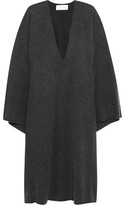 Chloé Oversized Cashmere Dress - Dark gray