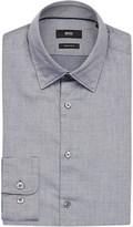 HUGO BOSS Regular-fit textured cotton shirt