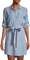 Velvet Heart Anita Roll-Sleeve Shirtdress