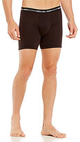Michael Kors Ultimate Cotton Stretch Boxer Briefs 3-Pack