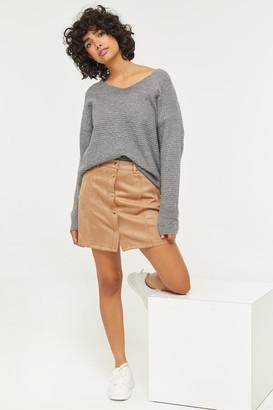 Ardene Faux Suede Mini Skirt