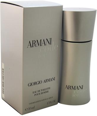 Giorgio Armani Men's Code Ice 1.7Oz Eau De Toilette Spray