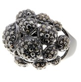 Ariella Collection Circular Pave Ring