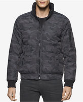 Calvin Klein Jeans Men's Camo Puffer Jacket