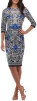 ECI Women's Jersey Sheath Dress