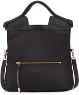 Foley + Corinna Nikki Fold-Over City Tote Bag, Black