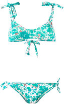Emmanuela Swimwear painted tree print bikini