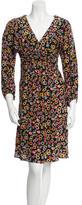 Joseph Silk Floral Dress w/ Tags