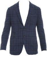 Lardini Blue Cotton Jacket
