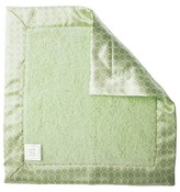 Swaddle Designs Fuzzy Baby Lovie® with Satin Binding - Green
