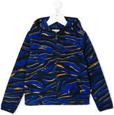 Kenzo tiger print hooded jacket