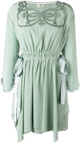 Fendi short dress - women - Silk/Viscose - 38