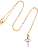 Ileana Makri 18-karat Gold, Diamond And Opal Necklace - one size